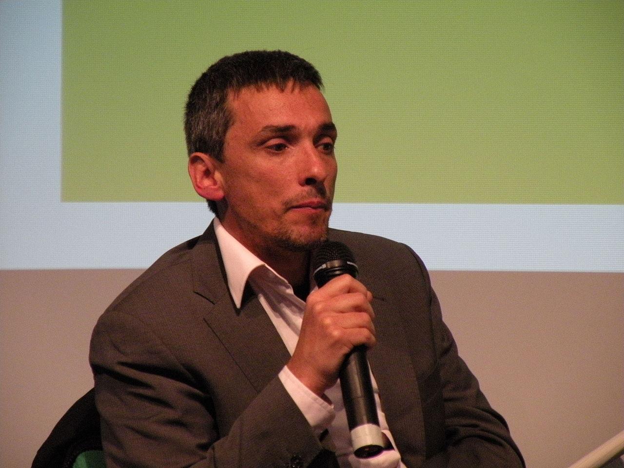 Raul Zelik in Berlin, 2010 Foto: Heinrich-Böll-Stiftung (CC)