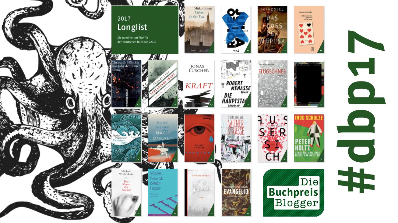Deutscher Buchpreis Longlist 2017