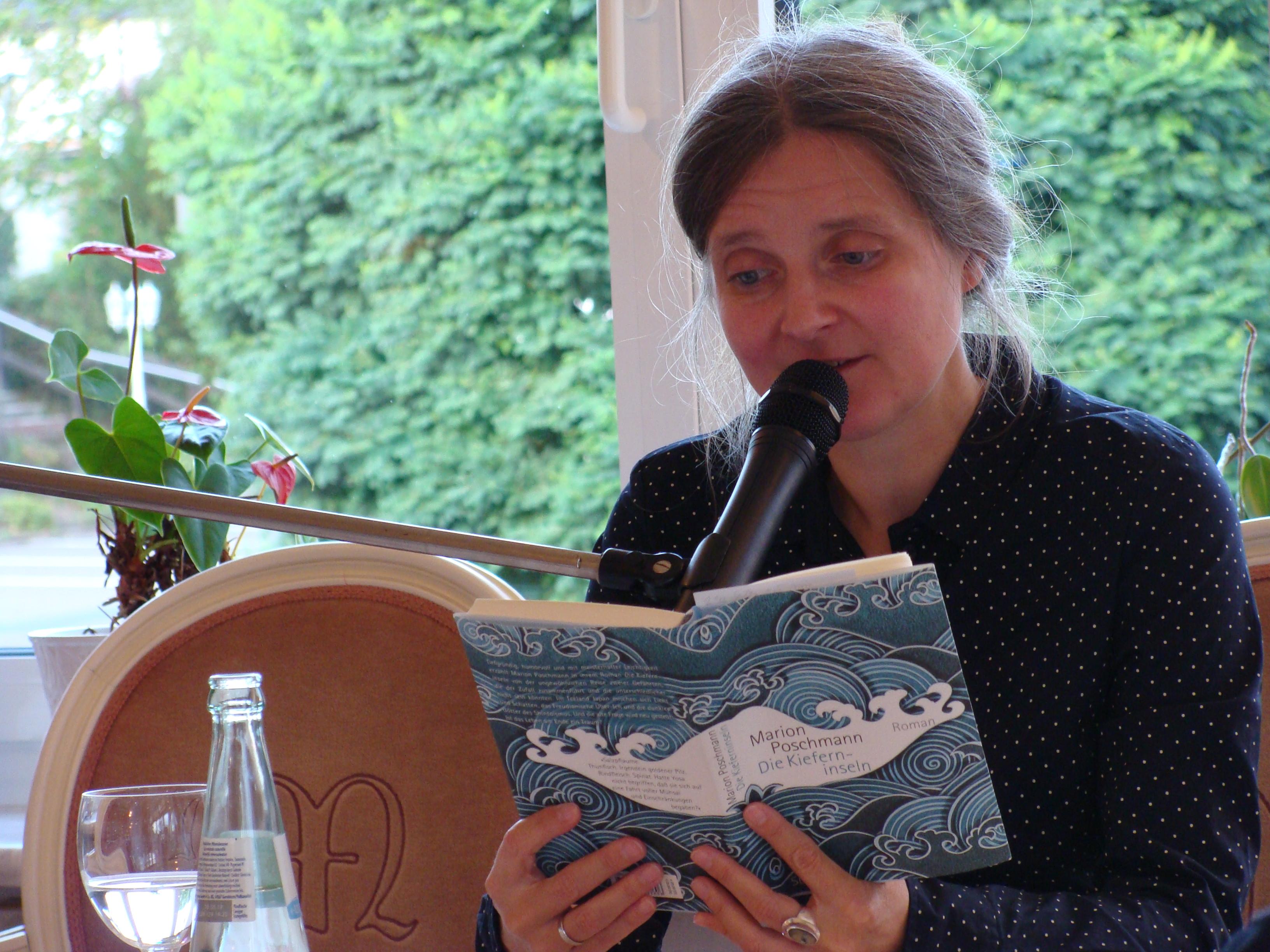 Marion Poschmann liest aus Die Kieferninseln